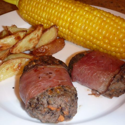 Beef and Bacon Rissoles