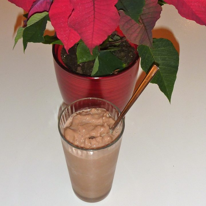 Claire's 100 calorie Chocolate Smoothie