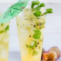 Passionfruit mock mojito and win a SodaStream Play