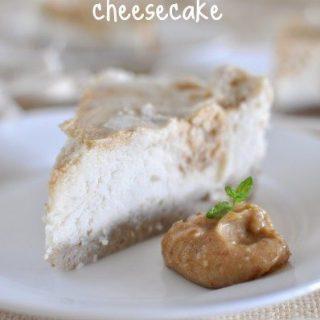 Raw coconut macadamia cheesecake