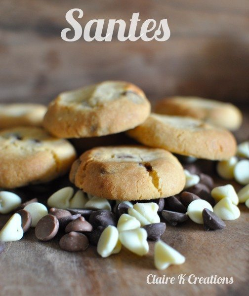 Santes - New Zealand's chocolate chip biscuits