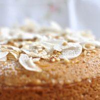 Simple lime cake