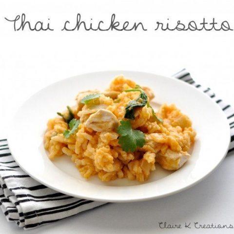 Thai chicken risotto