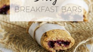 Berry breakfast bars