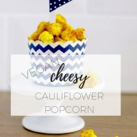 Cauliflower Popcorn