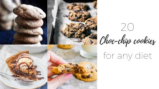 Chocolate chip cookies for any diet