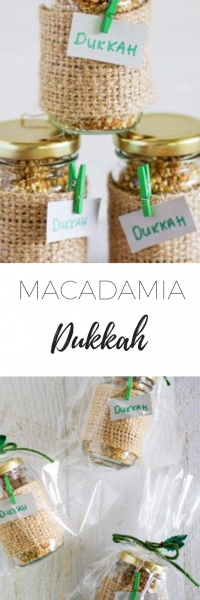 Macadamia Dukkah homemade gift