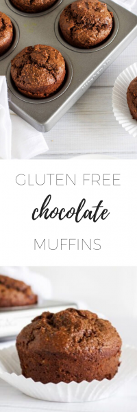 Gluten Free Chocolate Muffins - healthy and delicious!