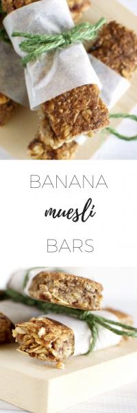 Banana Muesli Bars