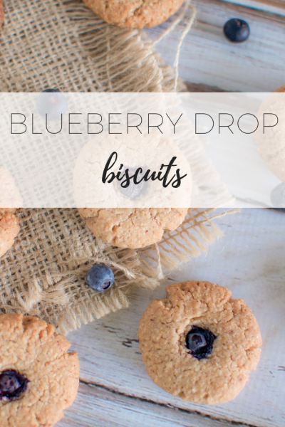 Blueberry drop biscuits - kid friendly and delicious!