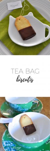 Tea bag biscuits