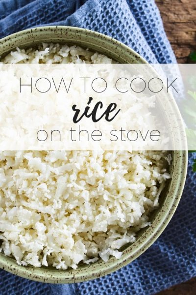 How to cook rice on the stove so it is light and fluffy every time